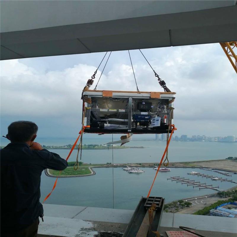 海南吊车大件吊装工程案例