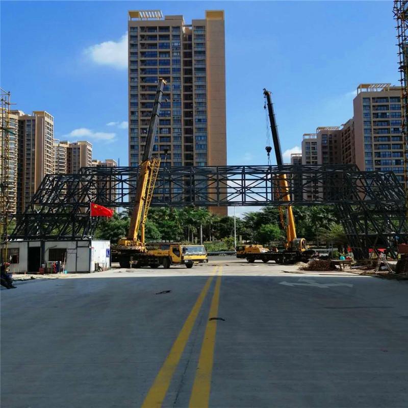 建筑工地吊装案例